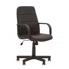 Кресло офисное Booster черное (металл/пластик/искусственная кожа)
