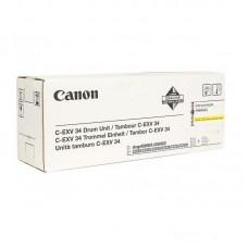 Драм-картридж Canon C-EXV34 3789B003AA 000 желтый оригинальный (фотобарабан)