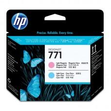 Головка печатающая HP 771 CE019A светло-пурпурная и светло-голубая