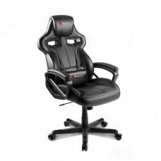 Кресло игровое Arozzi Milano черное (экокожа/пластик)