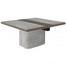Расширитель конференц-стола New.Tone Nt-280.1 (дуб серебристый/стоун, 1400х1400х740 мм)