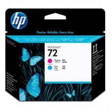 Головка печатающая HP 72 C9383A пурпурная и голубая