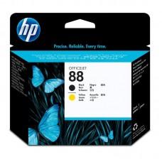 Головка печатающая HP 88 C9381A черная и желтая оригинальная