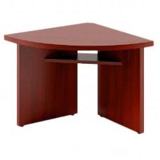 Стол для переговоров Born угловой элемент правый (бургунди, 840х840х750 мм)