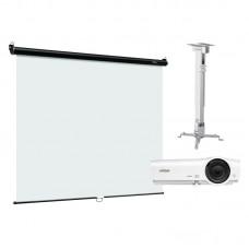Комплект интерактивный экран Digis DSOC-1102 + проектор Vivitek DX281ST + крепление Digis DSM2