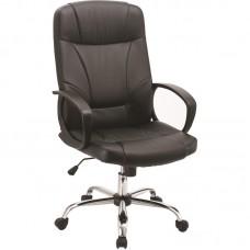 Кресло для руководителя Easy Chair 551 TPU черное (экокожа/металл/пластик)