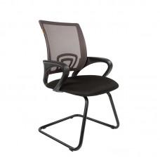 Конференц-кресло Chairman 696 V серое/черное (ткань/сетка/металл)