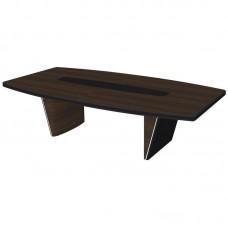 Конфренц-стол New.Tone Nt-280 (орех Ондо/эспрессо, 2800х1400х740 мм)