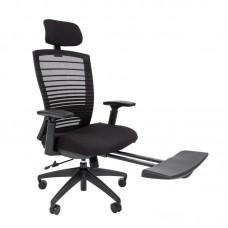 Кресло для руководителя Chairman 285 черное (ткань/сетка/пластик)