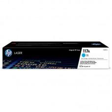 Тонер-картридж HP 117A W2071A голубой для 150/MFP 178/179