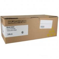 Картридж лазерный Ricoh SPC220 406055/407643 желтый оригинальный