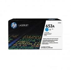 Картридж лазерный HP 653A CF321A голубой оригинальный