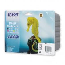 Картридж струйный Epson C13T04874010 оригинальный цветной