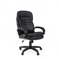 Кресло для руководителя Easy Chair 515 TPU черное (экокожа/пластик)