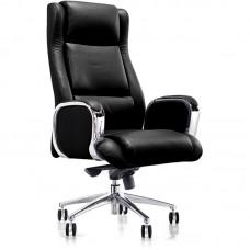 Кресло для руководителя Easy Chair 545 ML черное (кожа/металл)