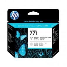Головка печатающая HP 771 CE020A фото черная и светло-серая