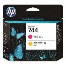 Головка печатающая HP 744 F9J87A пурпурная и желтая оригинальная
