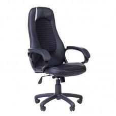 Кресло для руководителя PK 193 черное (ткань/пластик)