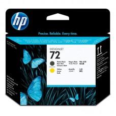 Головка печатающая HP 72 C9384A желтая и матовая черная