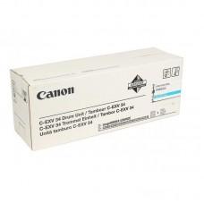Драм-картридж Canon C-EXV34 3787B003AA 000 голубой оригинальный (фотобарабан)