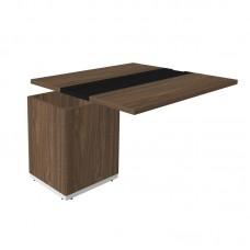 Конференц-стол Time.S Ts-140.1 расширительный (палдао, 1675х1400х750 мм)
