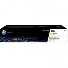 Тонер-картридж HP 117A W2072A желтый для 150/MFP 178/179