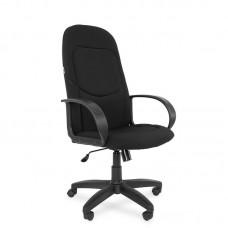 Кресло для руководителя РК 137 S черное (ткань/пластик)