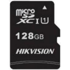 Micro SecureDigital 128Gb Hikvision SDXC class 10 UHS-I V30 (HS-TF-C1/128G)