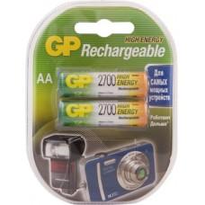 Аккумуляторы GP 270AAHC-2CR2 2700mAh AA 2шт