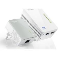 PowerLine TP-LINK TL-WPA4220kit 802.11n 300Мбит/с 2xLAN HomePlug AV500 2шт