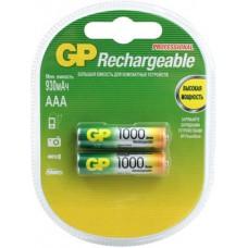 Аккумуляторы GP 100AAAHC-2CR2 1000mAh AAA 2шт