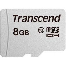 Micro SecureDigital 8Gb Transcend class10 UHS-1 (TS8GUSD300S)