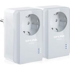 PowerLine TP-LINK TL-PA4010P KIT 500Mbps с розеткой