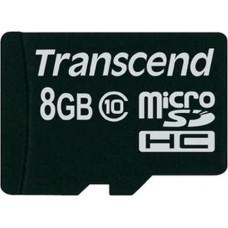 Micro SecureDigital 8Gb HC Transcend UHS-1 class10 (TS8GUSDCU1)