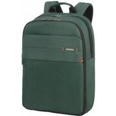 """17.3"""" Рюкзак для ноутбука Samsonite CC8*006*04, нейлоновый, зеленый"""