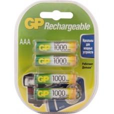 Аккумуляторы GP 100AAAHC-2CR4 1000mAh AAA 4шт