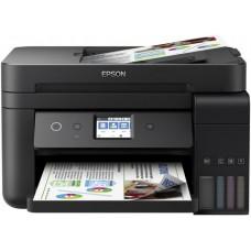 МФУ Epson L6190 Фабрика печати цветное А4 33ppm с дуплексом и автоподатчиком, Wi-Fi