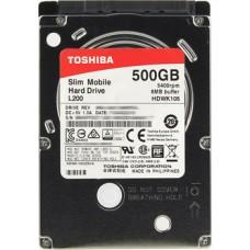 """500Gb 2.5"""" Toshiba L200 (HDWK105UZSVA) 8Mb 5400rpm SATA3"""