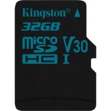 Micro SecureDigital 32Gb Kingston Canvas Go SDHC class 10 UHS-I (SDCG2/32GBSP)