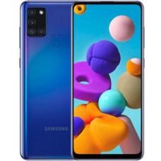 Смартфон Samsung Galaxy A21S SM-A217 64Gb синий