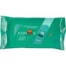 Чистящие салфетки (KSN-15) KONOOS для ноутбуков 15шт.
