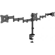 ARM Media LCD-T15 15-32' до 30кг Vesa до 100x100 черный для трех мониторов