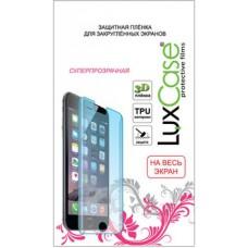 Защитная плёнка для Huawei P20 Lite (На весь экран) TPU, Прозрачная LuxCase