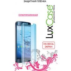 Защитная плёнка для Samsung Galaxy A3 (2016) SM-A310F (На весь экран) TPU, Прозрачная LuxCase