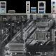 Материнская плата ASRock Z490 Phantom Gaming 4 Z490 Socket-1200 4xDDR4, 6xSATA3, RAID, 1xM.2, 2xPCI-E16x, 3xUSB3.2, 1xUSB3.2 Type C, HDMI, Glan, ATX